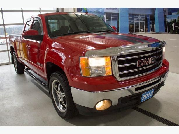 2013 GMC Sierra 1500 SLT | Leather | Tonneau Cover| Seat Memory |