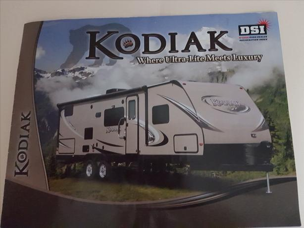 2012  27' Dutchmen Kodiak Travel Trailer 279RBSL