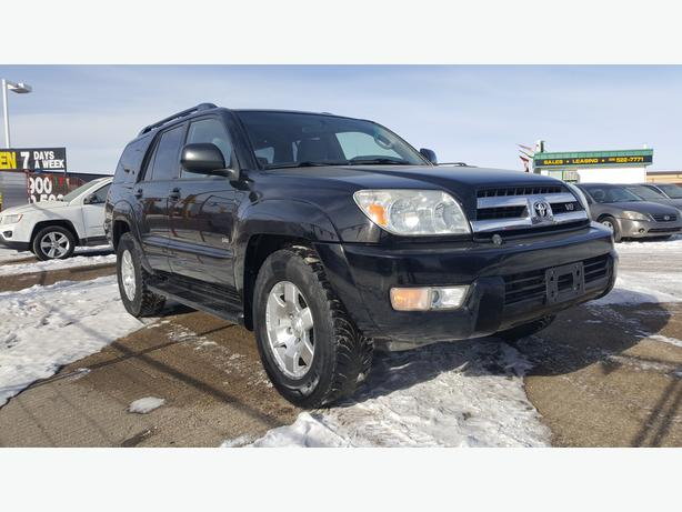 A must see and drive 2005 Toyota 4 Runner SR5 Sport Edition withDVD