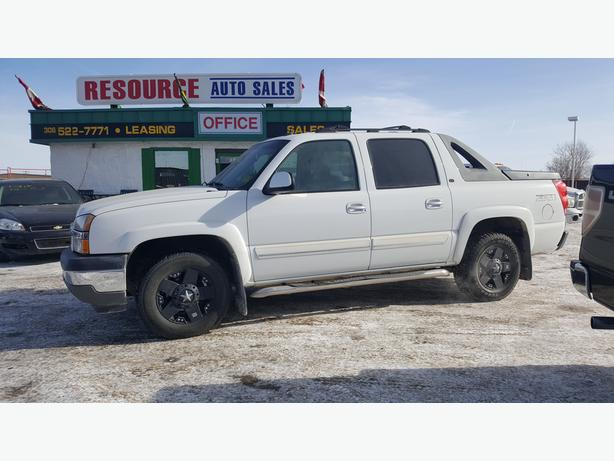 2005 Chev Avalanche with only 190766km and is a must see
