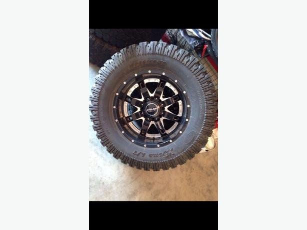 37s on 20in BMF 8 bolt