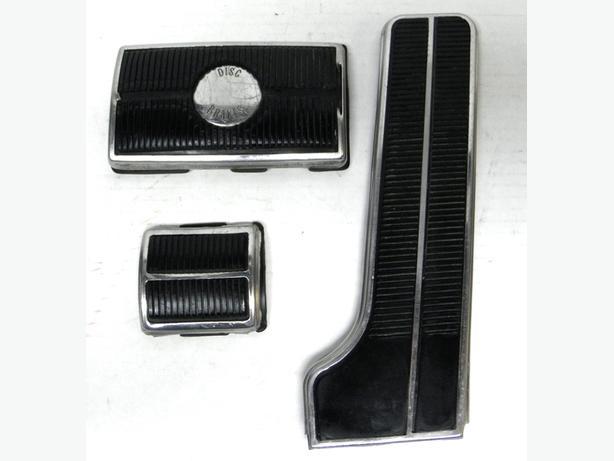 1965 66 67 68 69 70 Chevy Impala SS Pontiac Pedal Pads Gas Brake