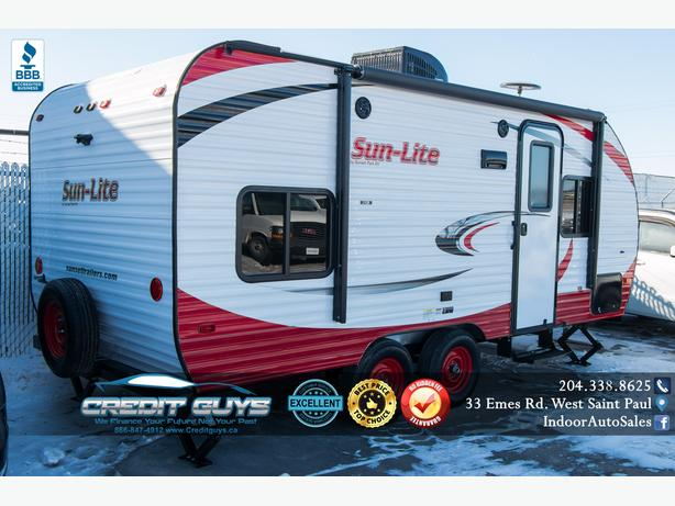 2018 SUNSET RV PARK SUN-LITE 21QB Credit Guys RV Winnipeg