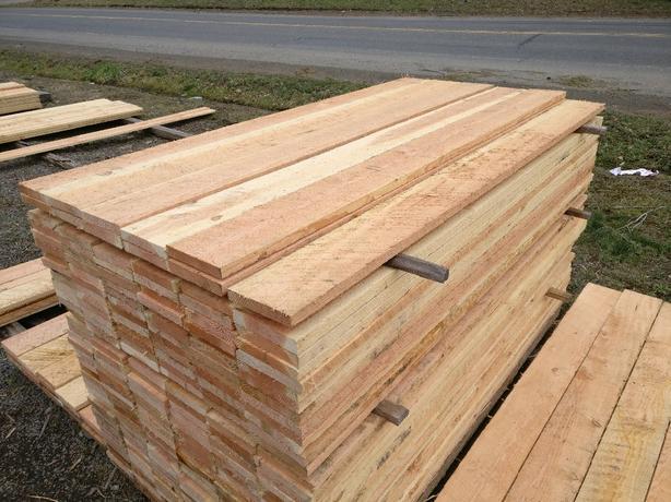 1x6 6 foot long fencing lumber