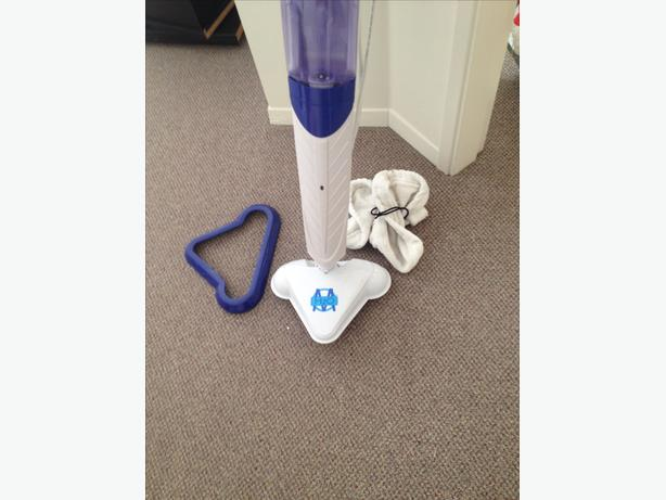 how to use h2o steam mop