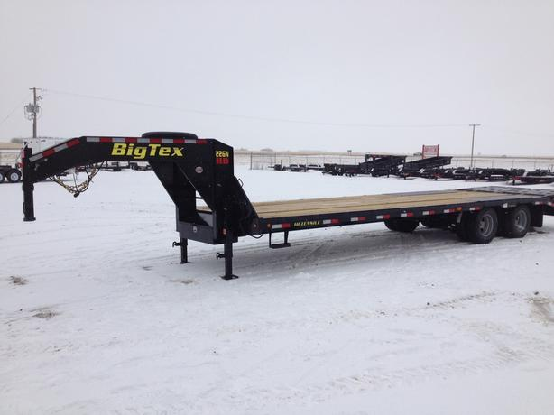 Big Tex 22GN HD 25ft + 5ft Tandem Dual Axle Gooseneck-100233
