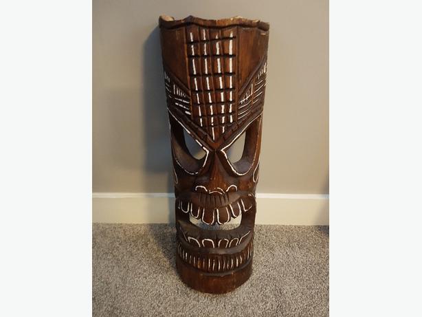 Wodden Tiki Mask