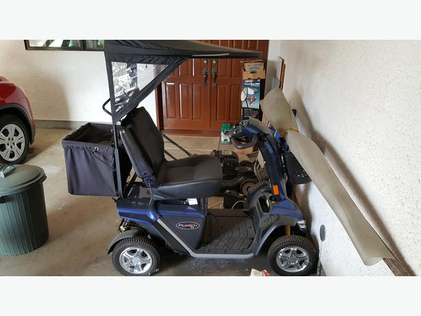Mobility Scooter - Pride Pursuit XL - $2950 (Powell River)