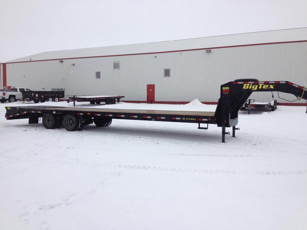 Big Tex 22GN HD 28ft + 5ft Tandem Dual Axle Gooseneck