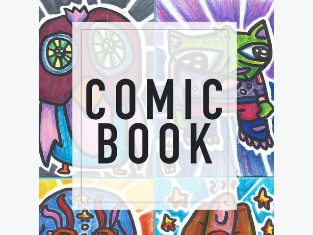 COMIC BOOK - 6 week kids art class