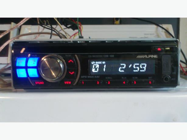 Alpine CDE-100 Car Stereo