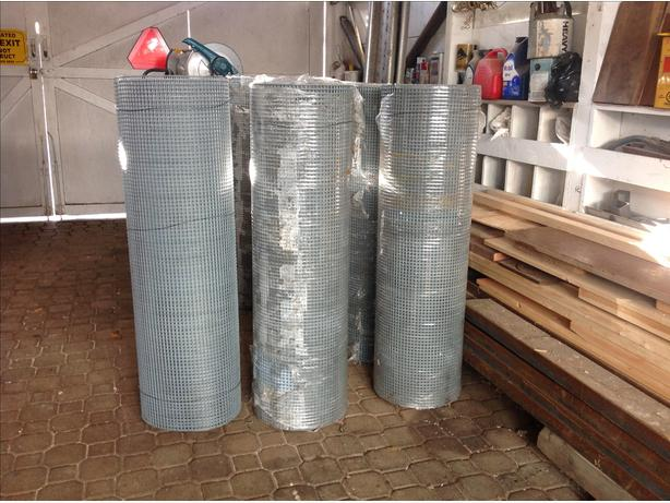 HEAVY DUTY GALVANIZED MESH