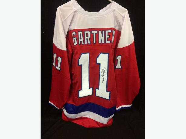 the latest cce50 003c9 Mike Gartner Washington Capitals Signed Jersey JSA COA ...