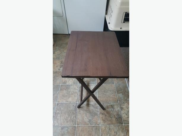 Two T.V. Tables for sale