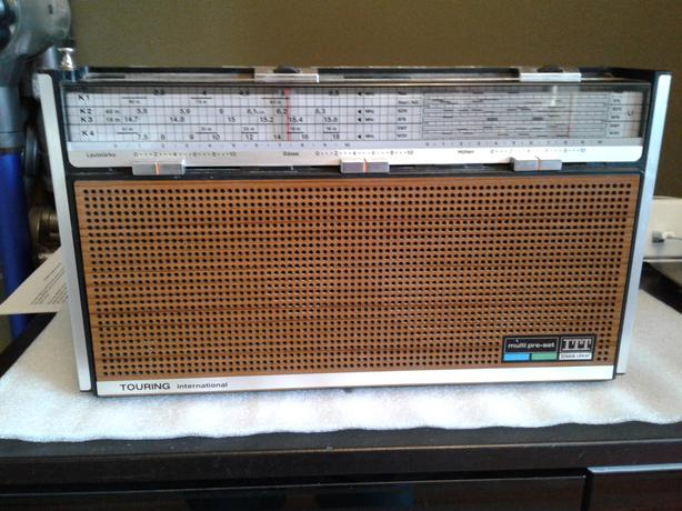 collectable + rare 1972 Schaub Lorenz (ITT) Touring T104A Radio