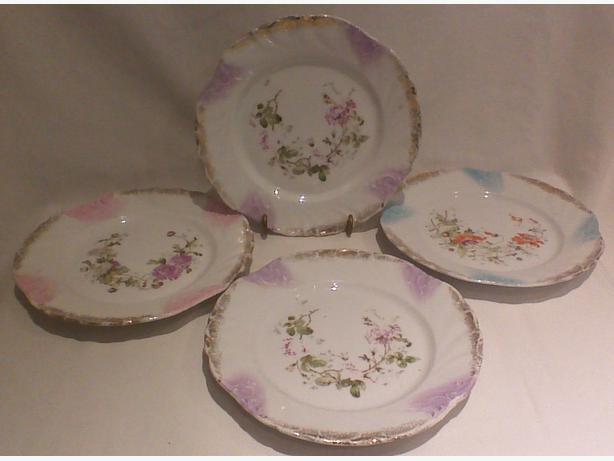 Vintage 19th century KPM German porcelain plates