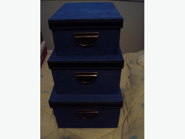storage boxes (set of 3)
