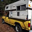 1990 f250 4x4 with 8 foot camper