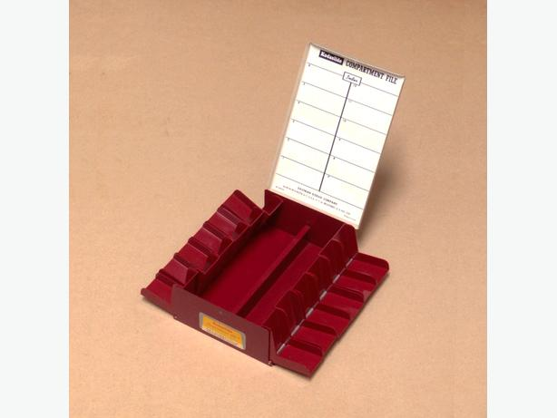 Vintage Kodak Kodaslide Compartment File