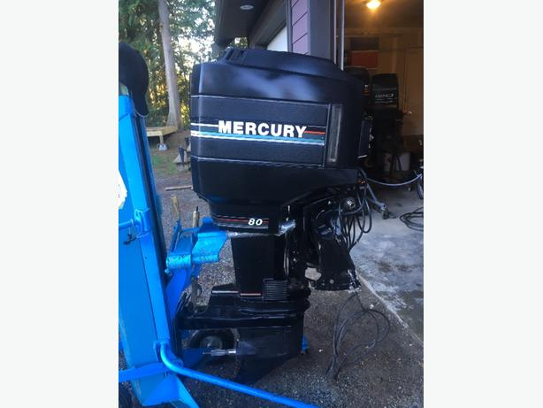  Log In needed $1,650 · Mercury 80hp Long Shaft 2 Stroke