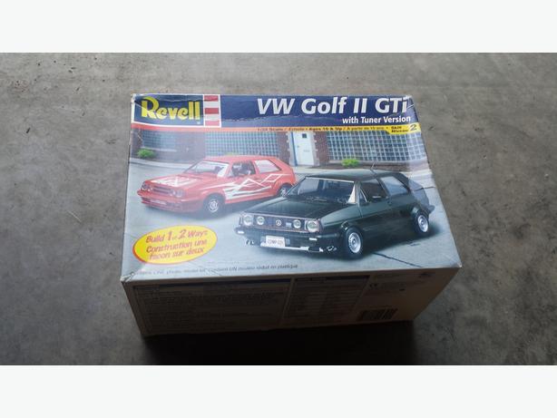VW Golf GTI model kit