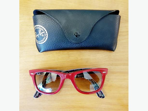 Ray Ban Red Sunglasses // Wayfarer Equality Series