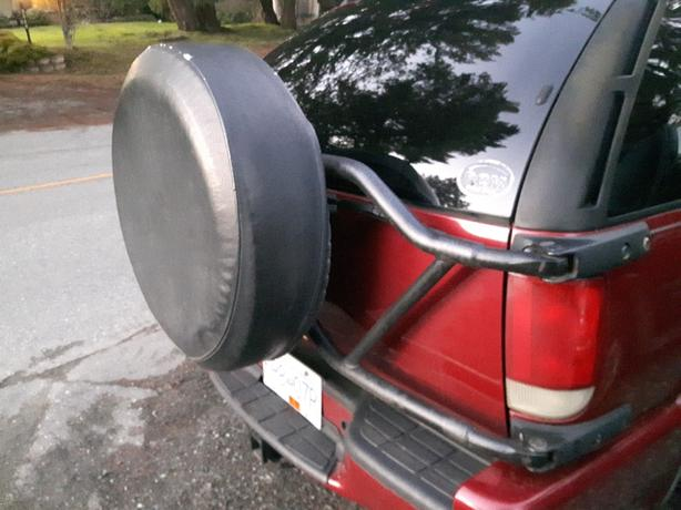 spare tire and mount