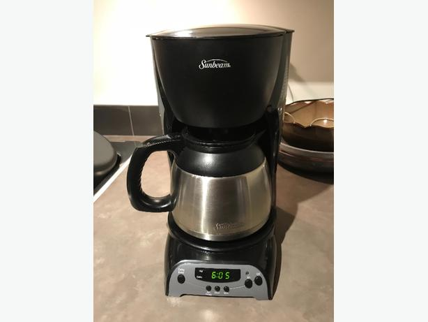 SUNBEAM 8 CUP PROGRAMABLE COFFEE MAKER