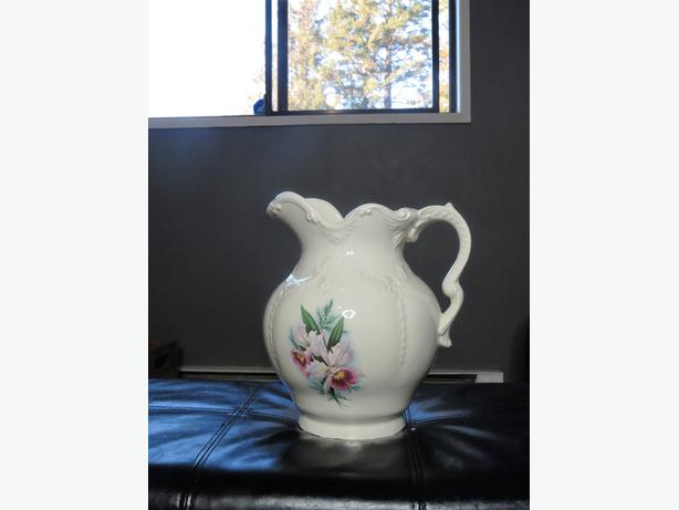 beautiful water pitcher
