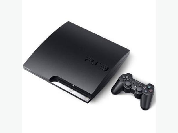 160 GB PS3 with Controller and 3 Games and LED Controller