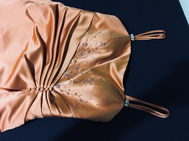 Semi-ornate Formal Gown