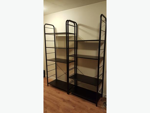 Pair of Utility Storage Shelves