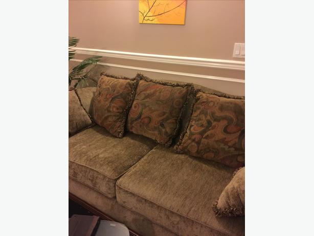 Sofa, Loveseat and Chair for sale
