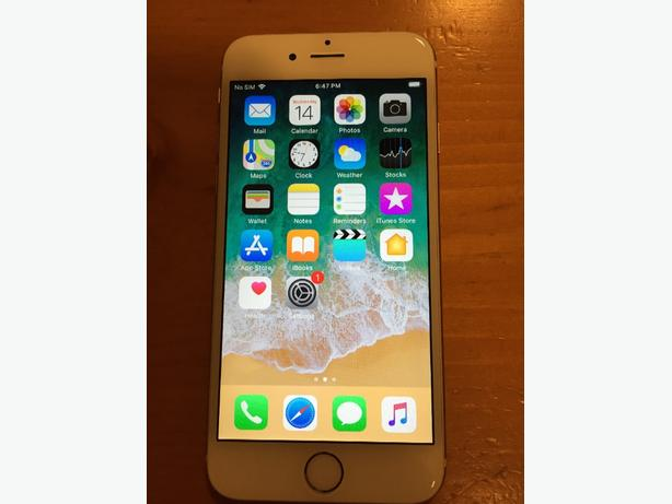IPHONE 6 16GB ON TELUS IN MINT CONDITION+CHARGER