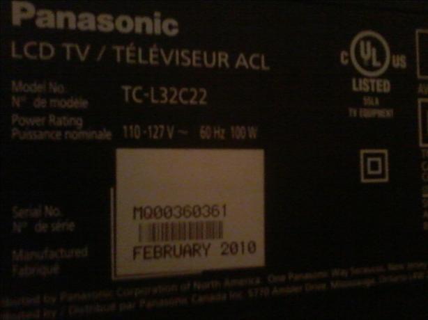 32'' Lcd Tv