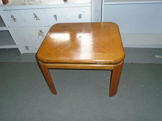 GOOD CONDITION SOLID END TABLE
