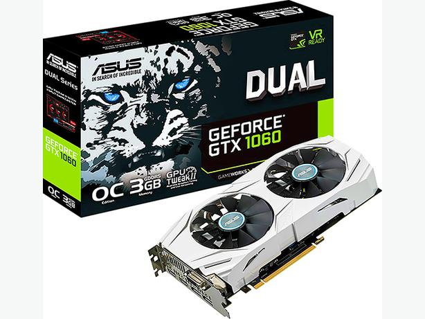 Asus nVidia Geforce GTX 1060 3GB