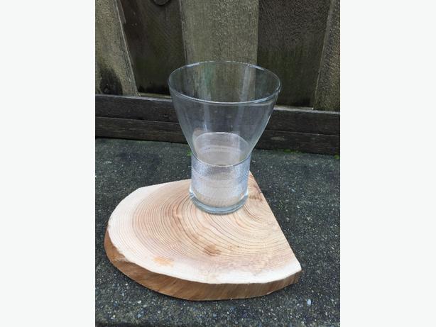 "Dozen Glass Vase 10"""