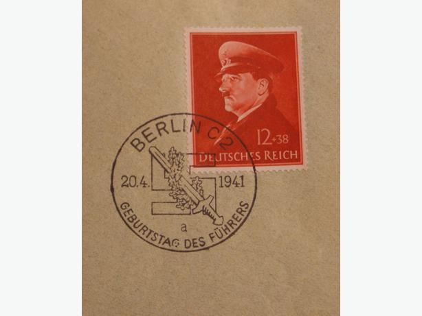 WW II BERLIN, 20 APRIL 1941