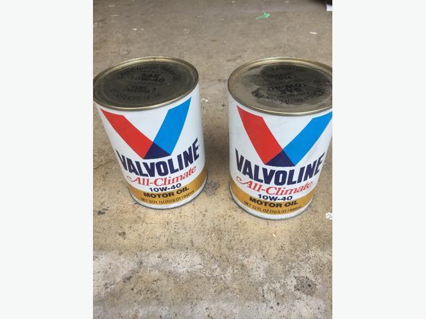 Valvoline Vintage Oil Can