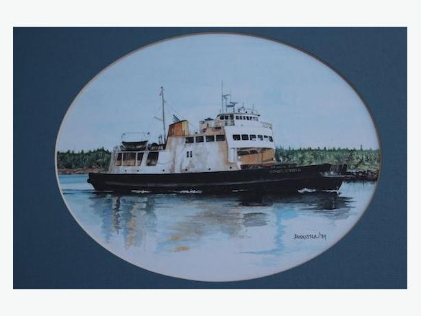 QUADRA QUEEN FERRY PRINT