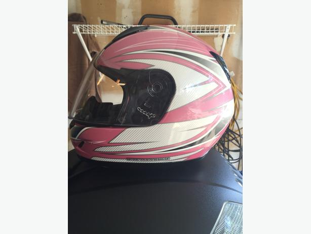 Pink HJC CL-Y Helmet