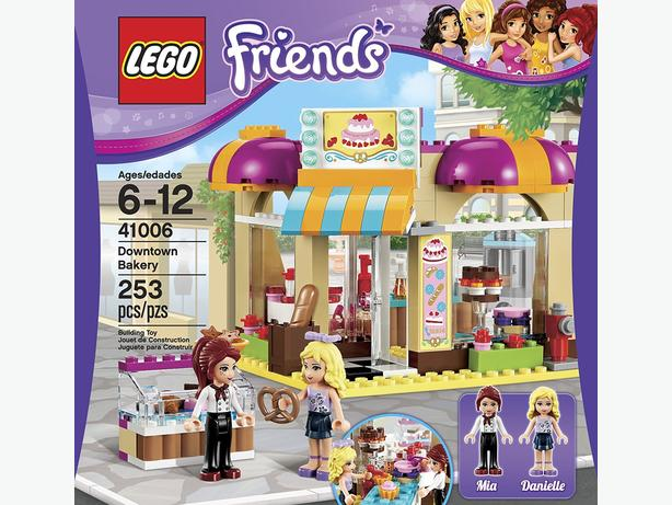 Lego Friends (discontinued set) Downtown Bakery, as new.