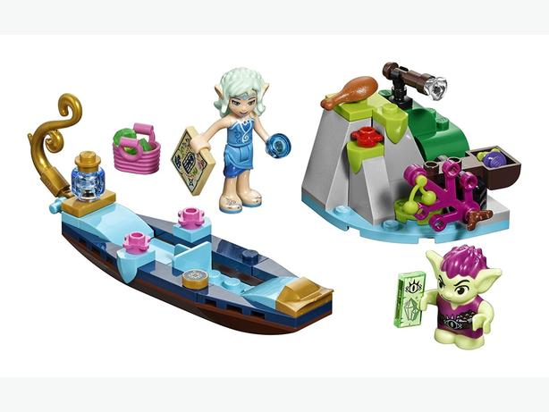 Lego Elves Naida's Gondola and the Goblin Thief, as new condition