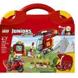 Lego Juniors Fire Rescue Suitcase, as new with instructions (no suitcase)