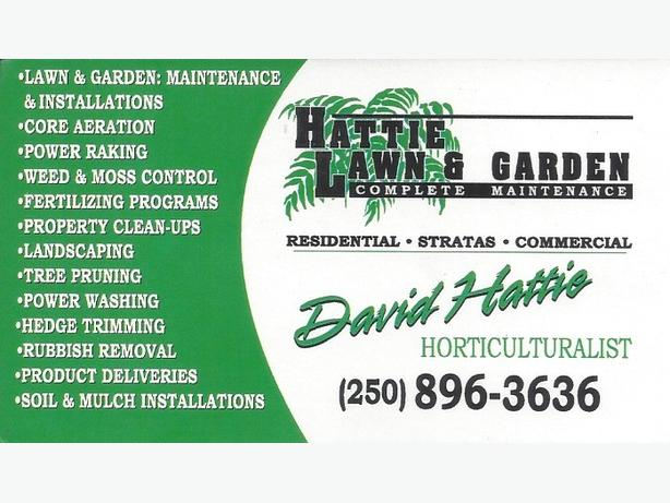 * GARDENING / LAWN & LANSCAPE POSITIONS AVAILABLE *