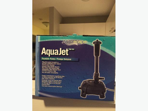 AquaJet Fountain Pump