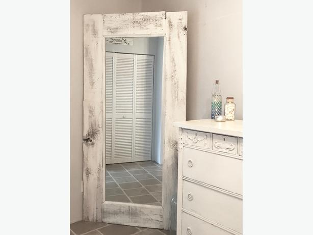🌻IMPRESSIVE🌻Shabby Chic Mirror Farmhouse Mirror Barnwood Mirror