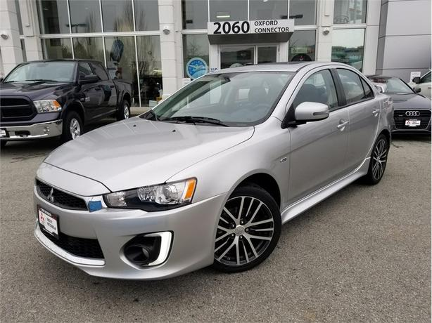 2016 Mitsubishi Lancer GTS PREMIUM PKG, HEATED LEATHER SEATS, SUNROOF