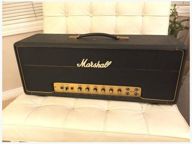 WANTED: older marshall amp & 4x12